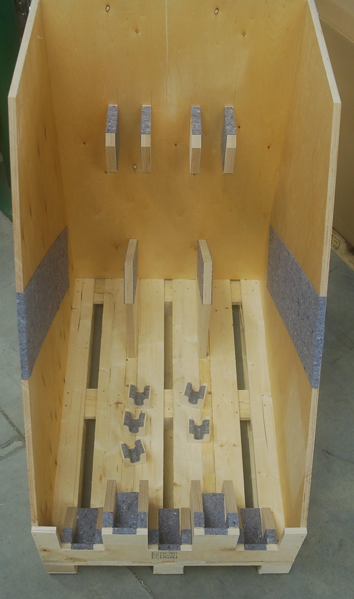Pendelbehälter für Halterung