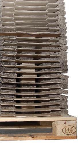 Wellpapp-Lagerungen