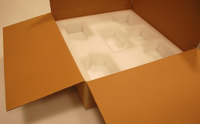 Verpackung für DAC