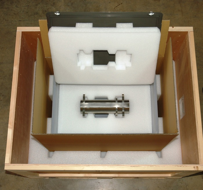 Versandbehälter Beamexpander