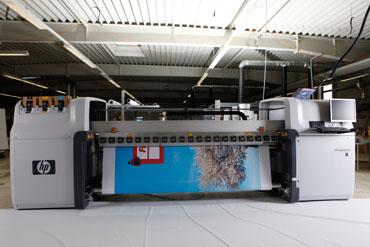 zweites HP Latex Drucksystem bei Vicont in Betrieb genommen
