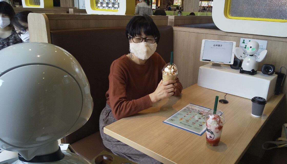 「5G✖️分身ロボットOriHime リモ-ト接客サ-ビス」に行ってきました!