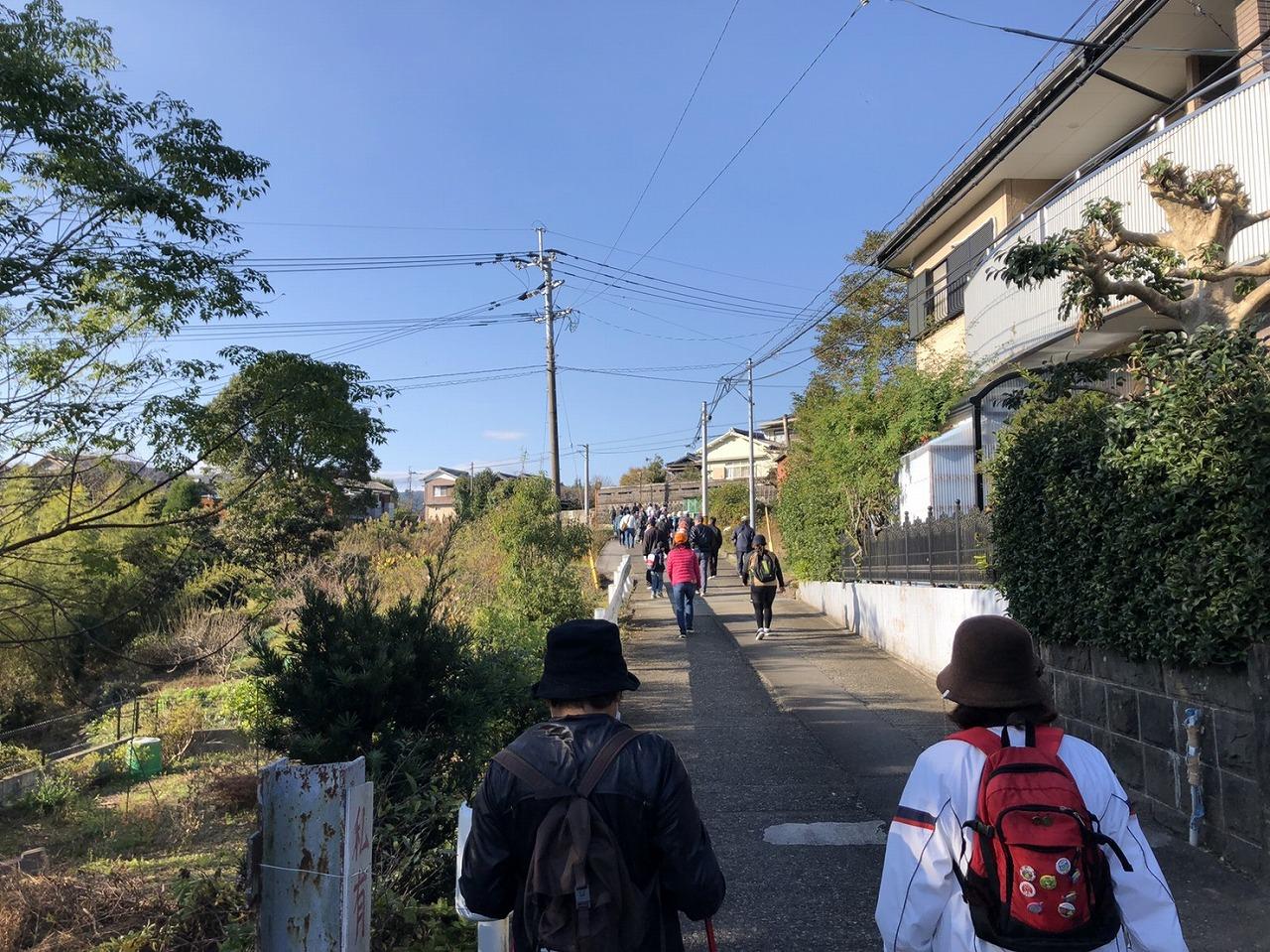 11月29日日曜日「下北地区歩こう会」が開催されました