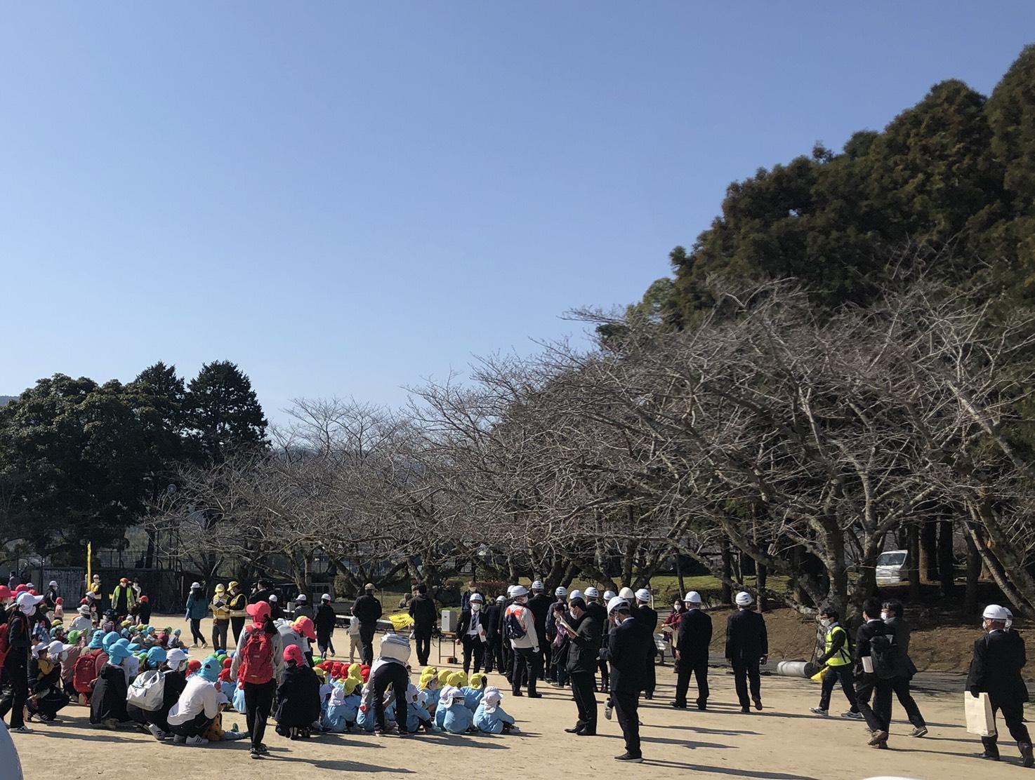 「中央地区防災避難訓練」に臼杵市議会として参加しました