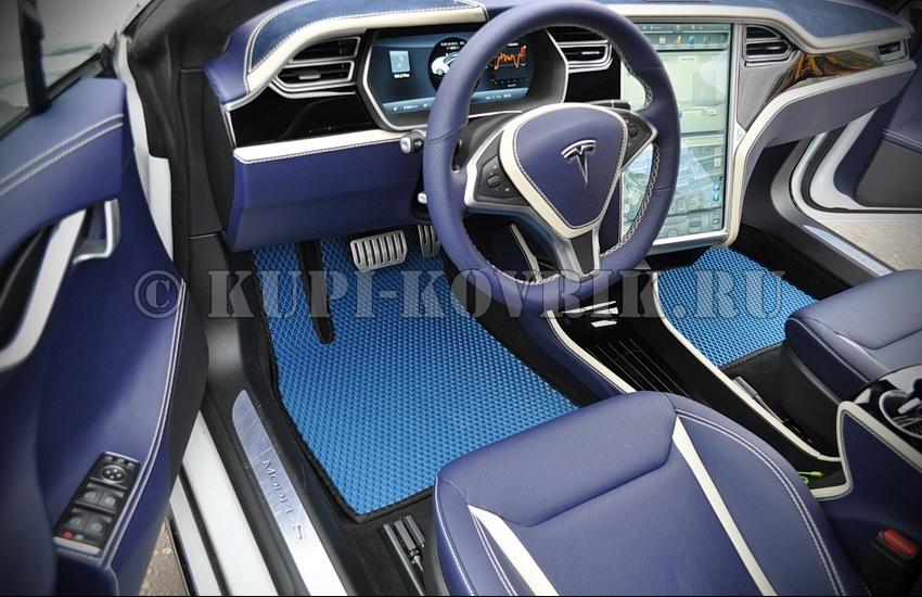 Коврики Tesla Model S