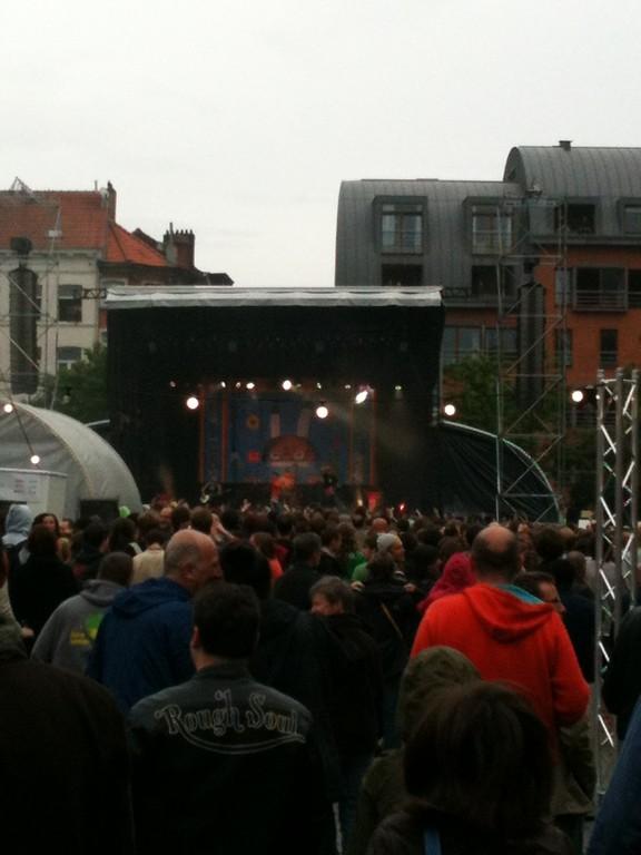 Concert de Manu Chao sur la Place du Jeu de Balle - 12 juillet 2012
