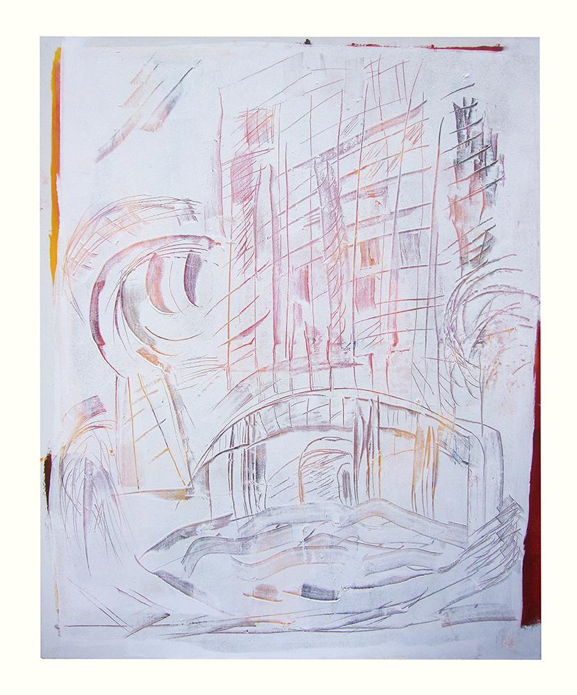 """Sgraffiti """"Hernst II"""", Werk-Nr. 035, Florence Solvay"""