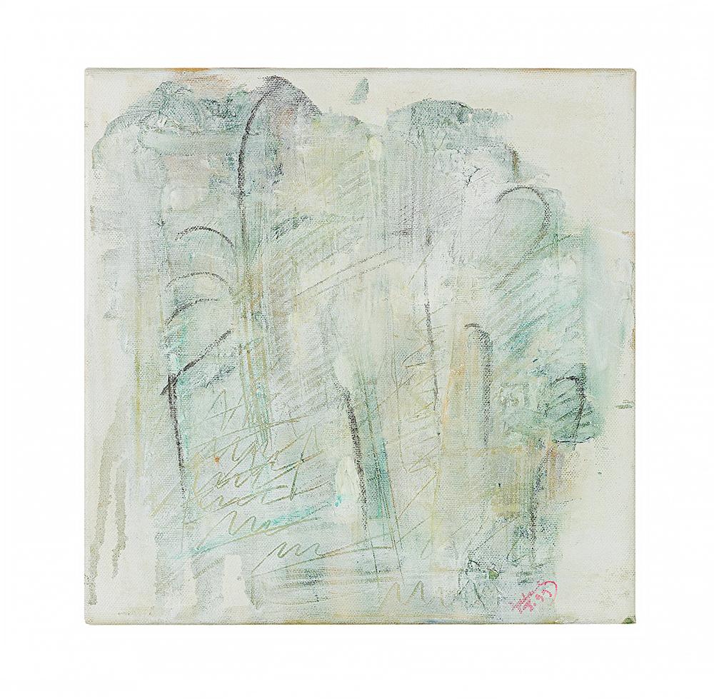 "Abstrakt ""Toscana I"", Werk-Nr. 090, Florence Solvay"