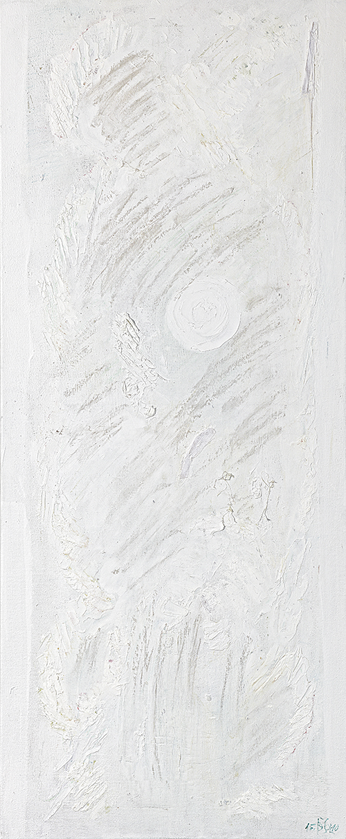 """Weiße Bilder """"Dekadenz"""", Werk-Nr. 120, Florence Solvay"""