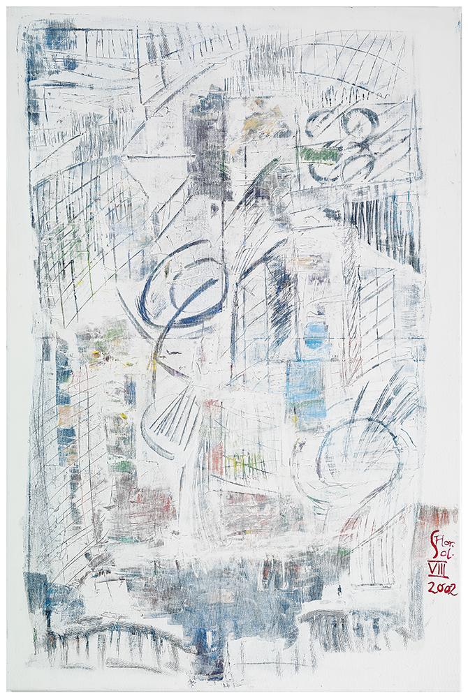 "Sgraffiti ""Stadt am Wasser"", Werk-Nr. 065, Florence Solvay"