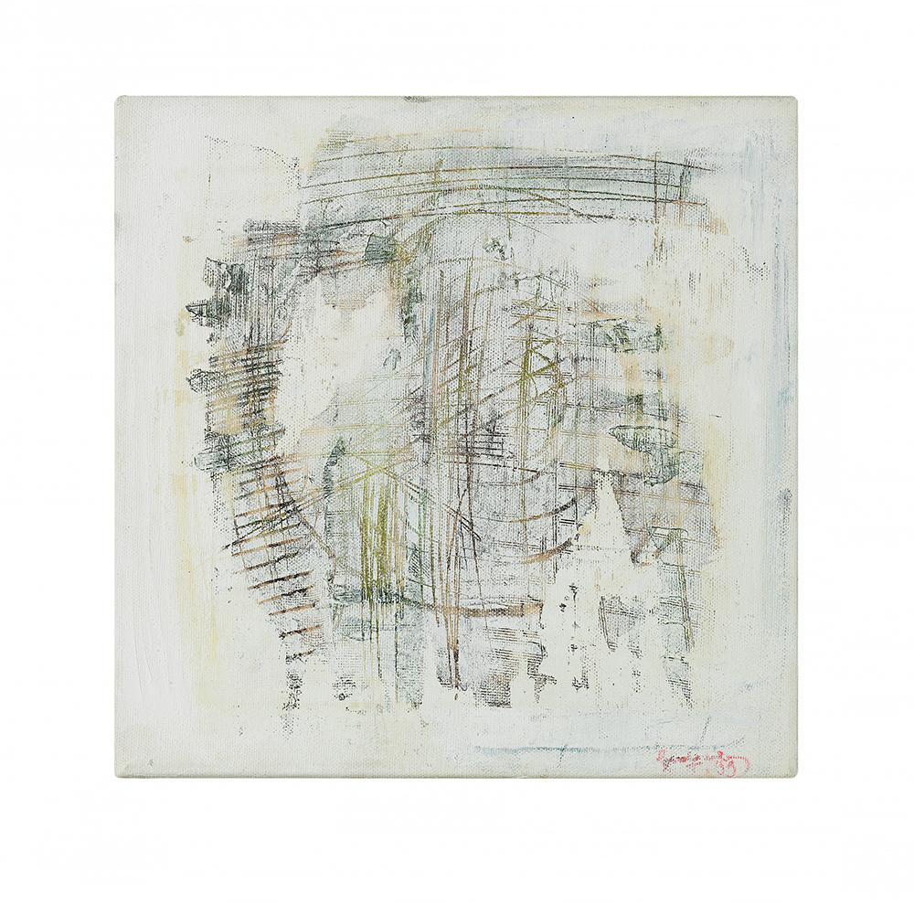 "Abstrakt ""Toscana II"", Werk-Nr. 091, Florence Solvay"