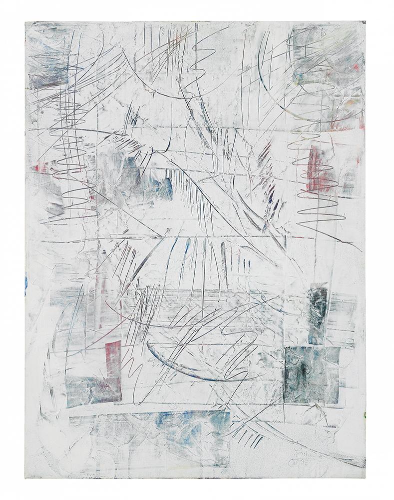 "Sgraffiti ""Drei Winter I"", Werk-Nr. 062, Florence Solvay"