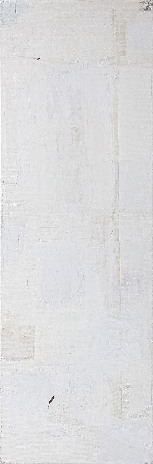 """Weiße Bilder """"Weißes Licht II"""", Werk-Nr. 116b, Florence Solvay"""