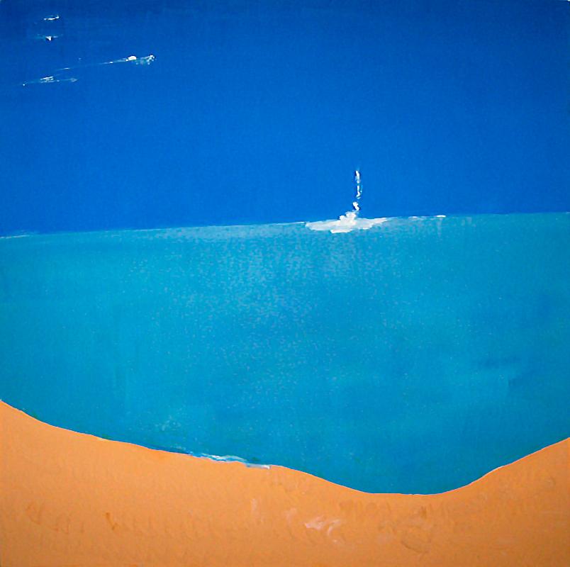 "Öl auf Leinwand ""Ningaloo Reef"", Werk-Nr. 086, Florence Solvay"