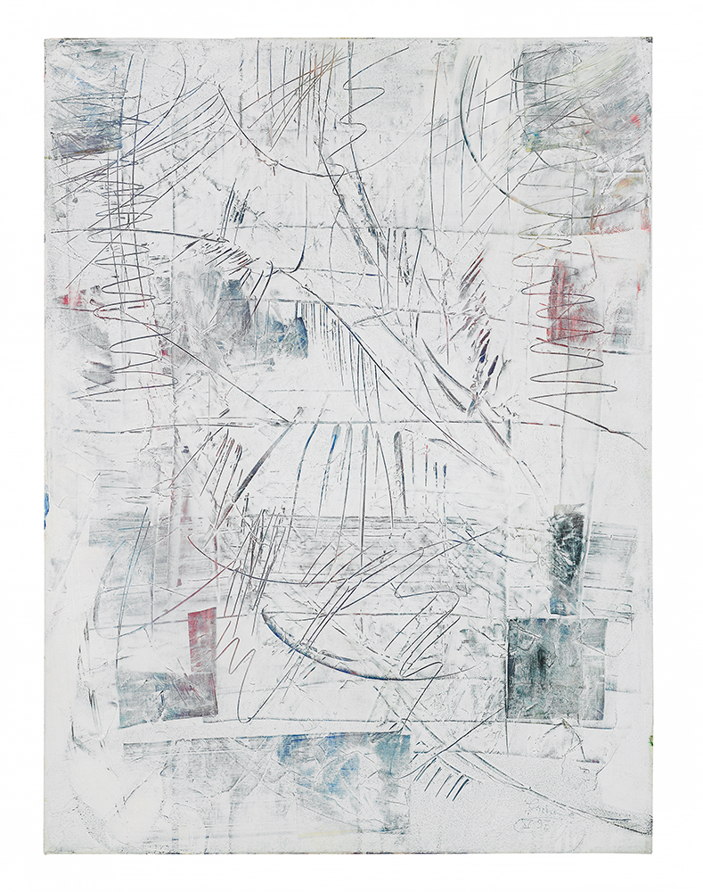 "Abstrakt ""Drei Winter I"", Werk-Nr. 062, Florence Solvay"