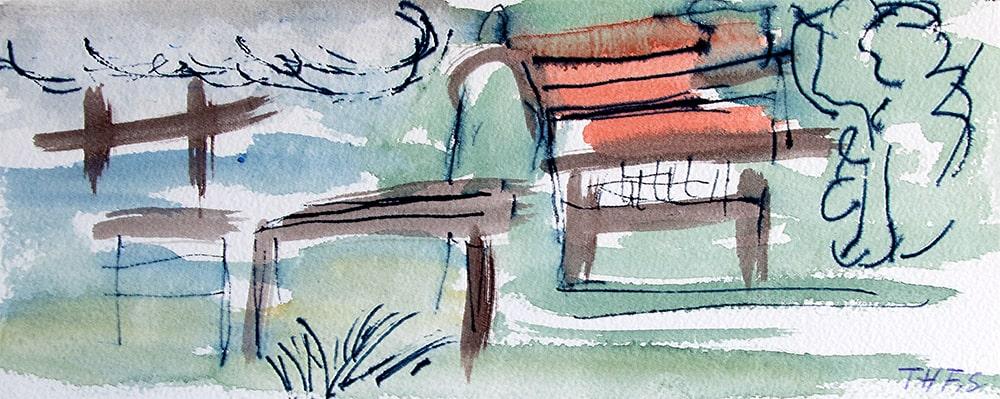 "Thailand Khao Lak ""Häuser"", Werk-Nr. 147, Florence Solvay"