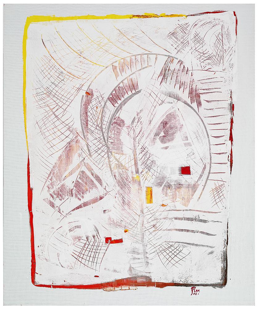 "Abstrakt ""Herbst im Park"", Werk-Nr. 114, Florence Solvay"