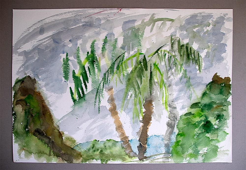"Thailand Ko Tao ""Monsun"", Werk-Nr. 154, Florence Solvay"