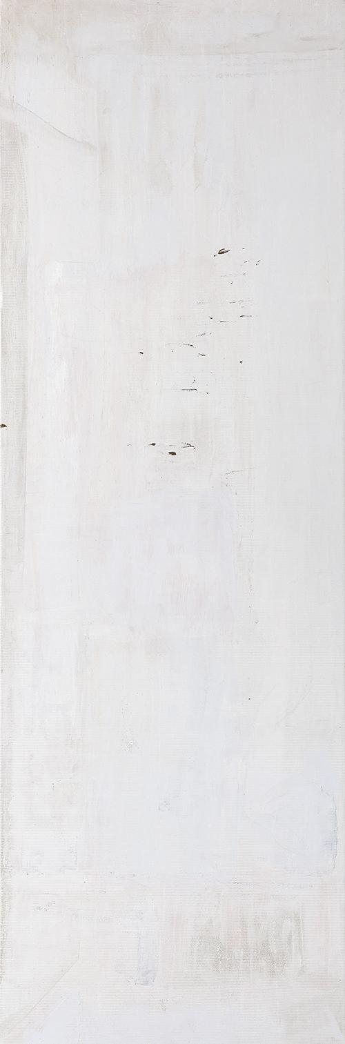 """Weiße Bilder """"Weißes Licht I"""", Werk-Nr. 116a, Florence Solvay"""