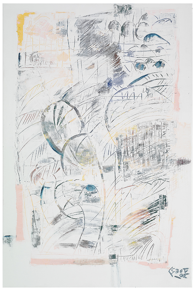 "Abstrakt ""Frühling"", Werk-Nr. 111, Florence Solvay"