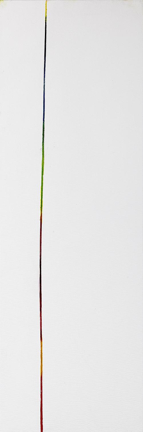"""Weiße Bilder """"Dyptychon I"""", Werk-Nr. 119a, Florence Solvay"""