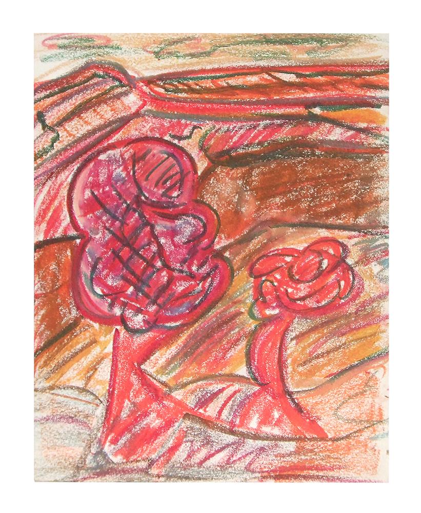 "Öl auf Leinwand ""Berge V"", Werk-Nr. 058, Florence Solvay"