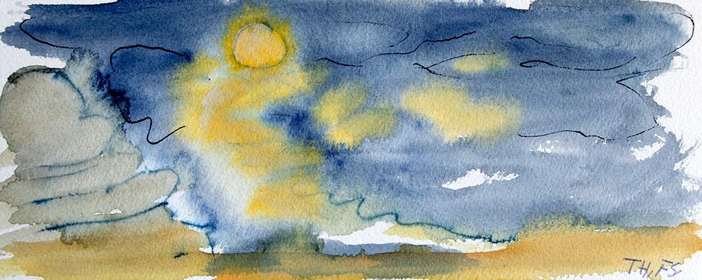 """Thailand Khao Lak """"Nacht"""", Werk-Nr. 148, Florence Solvay"""