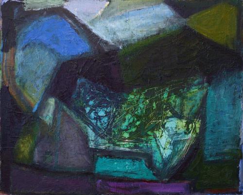 Елена Арцутанова — «Тархун». Холст, масло, 90х110, 2006.