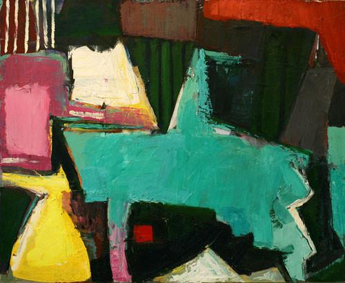 Елена Арцутанова — «Чужие цветы». Холст, масло, 90х110, 2005.