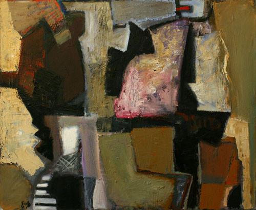 Елена Арцутанова — «Апрель». Холст, масло, 90х110, 2005.