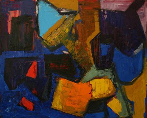 Елена Арцутанова — «Сквозняки». Холст, масло, 90х110, 2006.