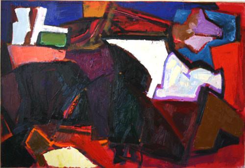 Елена Арцутанова — «Сон и свет». Холст, масло, 95х140, 2005.
