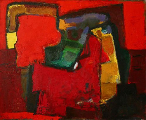 Елена Арцутанова — «Остров». Холст, масло, 90х110, 2005.