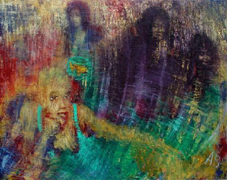 Агабалаев — «Емеля», 2004; xолст, масло; 80х100 см
