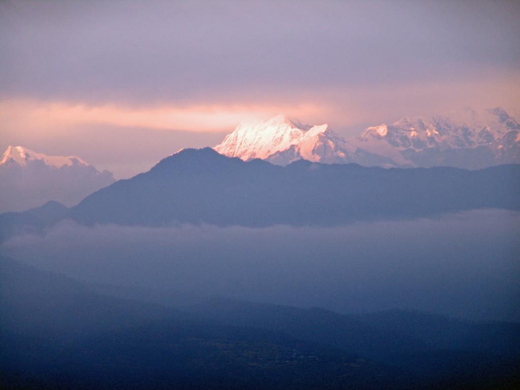 Ausblick vom Ananda Puri Ashram in Chilianaula