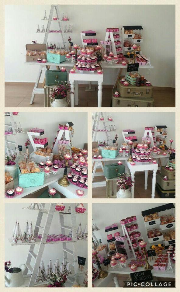 Hermosas mesas de dulces