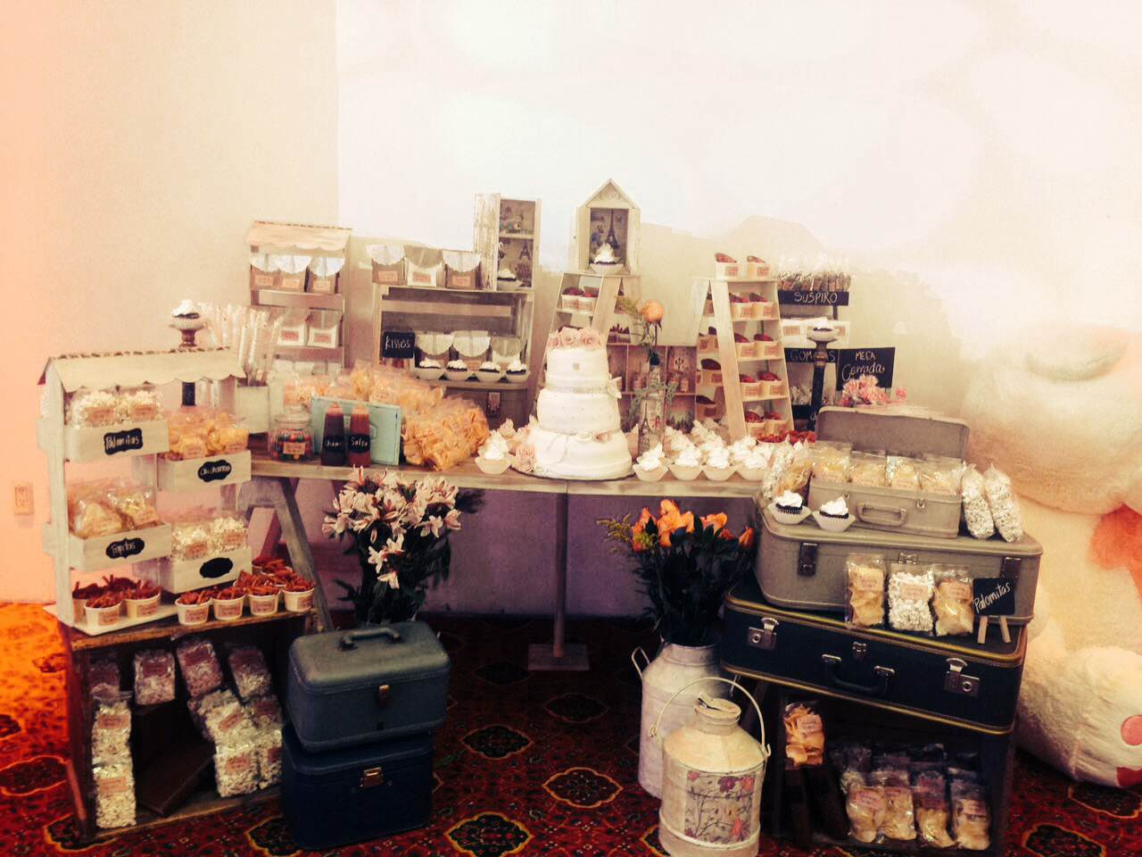 Mesa de dulces xv años