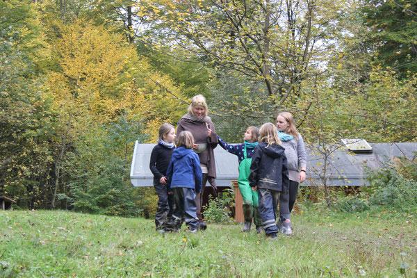 Auf Kräuterwanderung - Herbstcamp