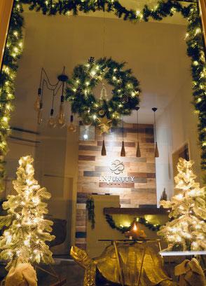 Weihnachtsdeko Schaufenster