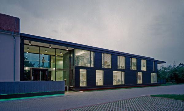 Erweiterung und Renovierung Bürogebäude Wildbach- und Lawinenverbauung Wr. Neustadt-A, Gutachterverfahren 2005 - 1.Preis