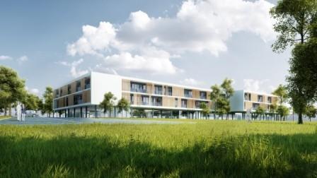 Neubau Landespflegezentrum Mürzzuschlag-A, 2014 - Qualifiziert für die zweite Bearbeitungsstufe