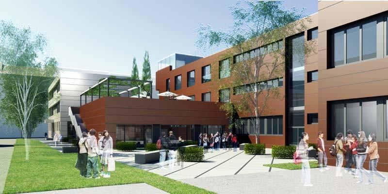 Umbau und Erweiterung Stelzhamerschule Linz-A, 2008