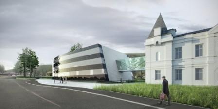 Neubau des 2nd Administration Building am Campus des IST-Austria, Klosterneuburg-A, 2014 - 6. Platz