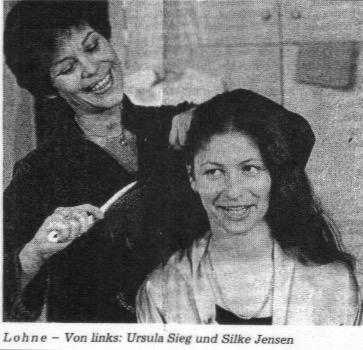 """1988 """" Die Morgengabe"""" Ursula Sieg & Silke Jensen"""