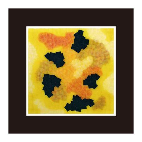 セロハン画™『Tape layer works.11』/ 2011年制作 / 25×25cm /特注カラーセロテープ