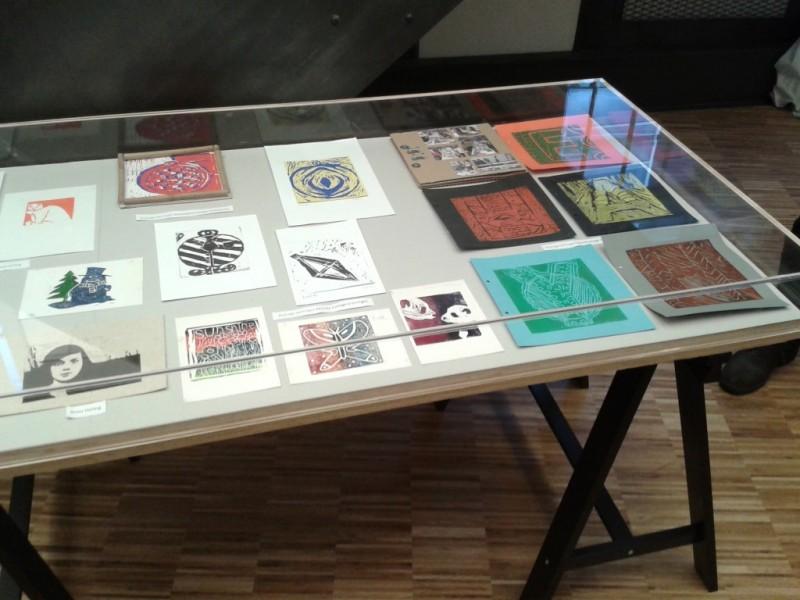 Eervolle vermelding scholierenwedstrijd van het Grafisch museum Groningen 'Ode aan de lino' 2016
