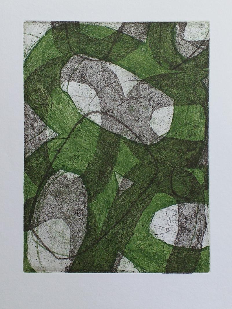 Ets, aquatint, vernis mou, droge naald 20x15cm 2020 The Auction Collective