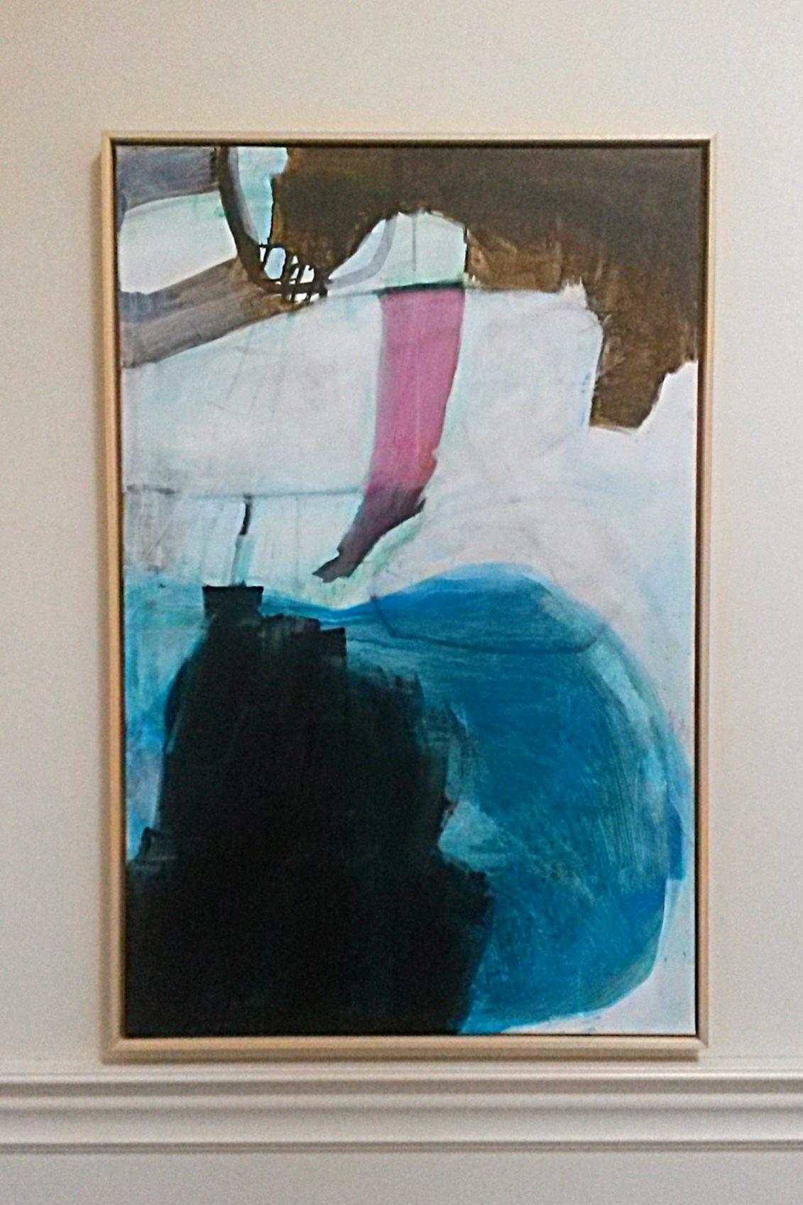 Acryl op canvas 75 x 115 cm 2018