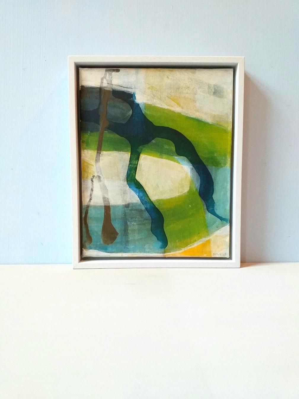 Acryl en ecoline op vanvas 24x30 cm 2018