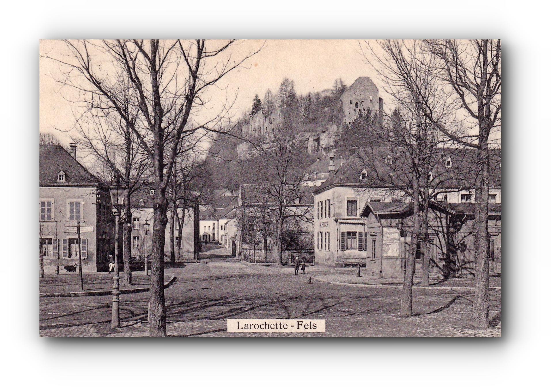 LAROCHETTE - 31.10.1911 - Fels -
